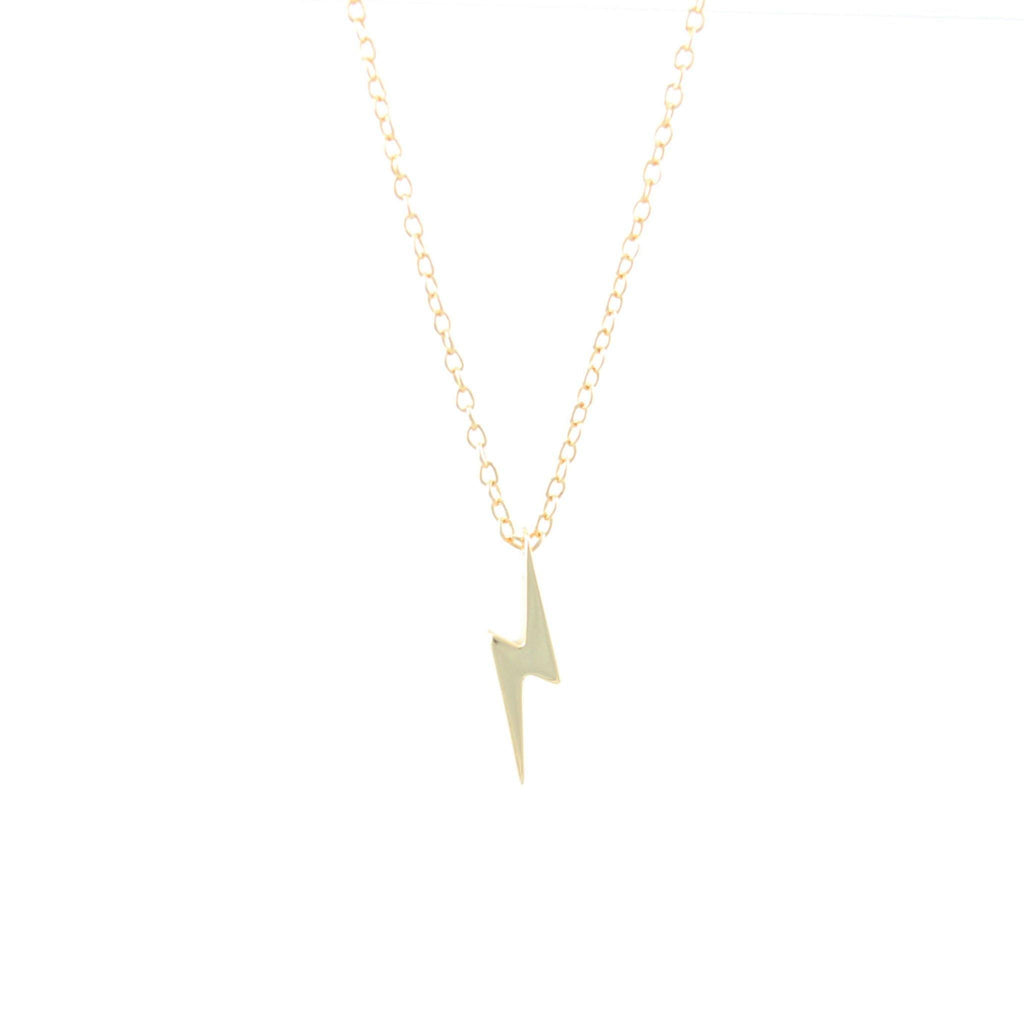 Lightning Bolt Necklace - Pretty Shiny Shop