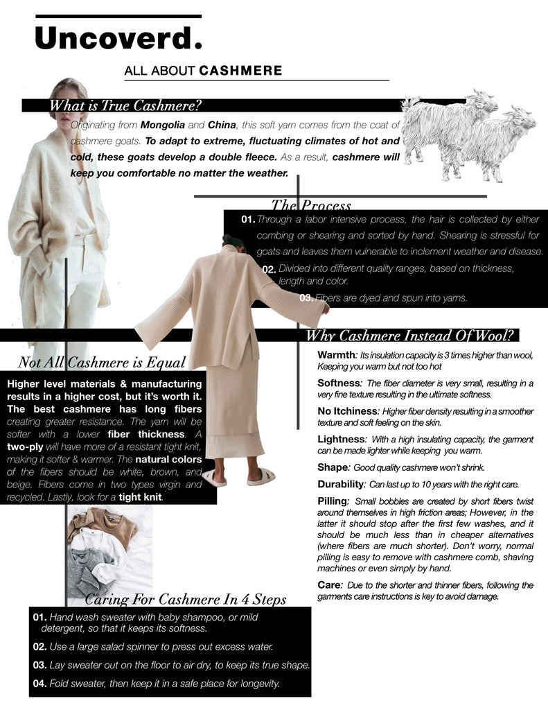 Guide to High Quality Cashmere