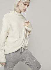 Women's Luxury Cashmere Bell Sleeve Sweater