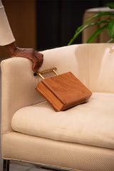 Wood Clutch Bag
