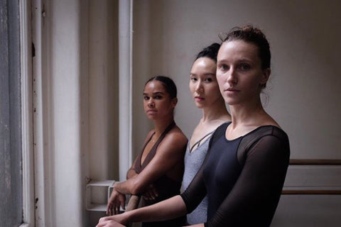 Dancers Misty Copeland, Hee Seo, & Devon Teuscher practicing for Benjamin Millepied's new piece for NYCB - learn more www.uncoverd.world
