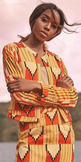 Kente Jacket No. 2