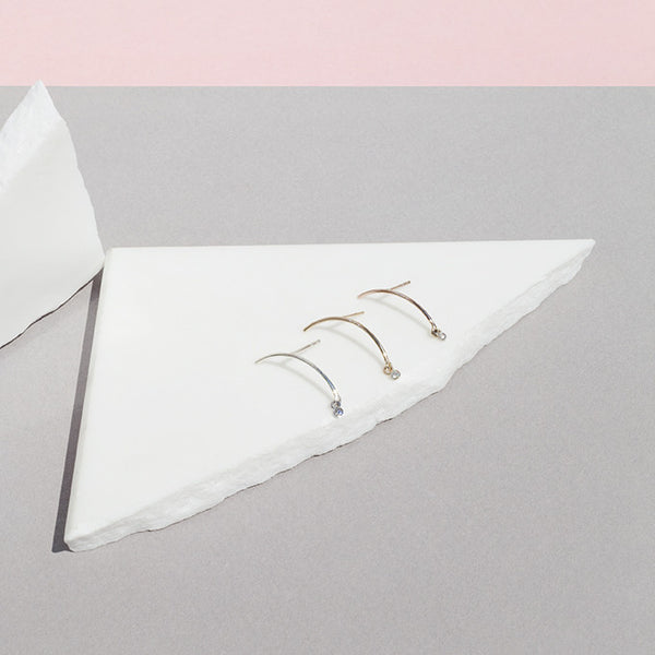 "Arc ""Mobile"" Earrings - Diamond"
