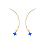 "Arc ""Mobile"" Earrings - Sapphire"