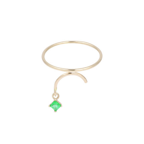 Arc Ring - Emerald