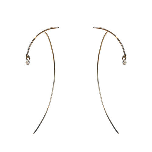 "Arc ""Stabile"" Earrings - Diamond"