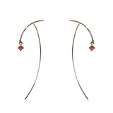 Tara4779 Arc Ruby Stabile Earrings shop online www.uncoverd.world
