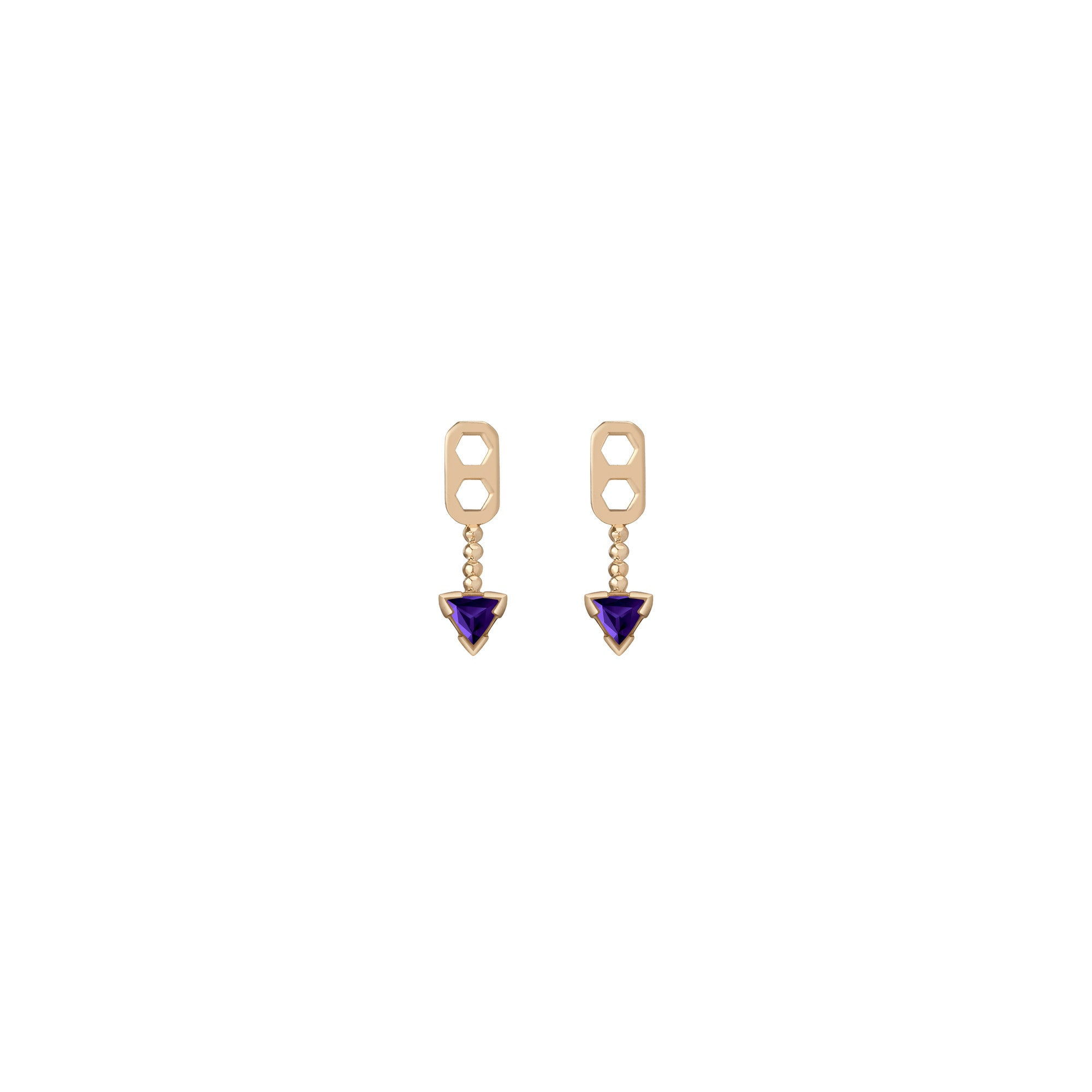 14K Gold Birthstone Ear Jacket