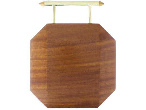Molly wooden clutch