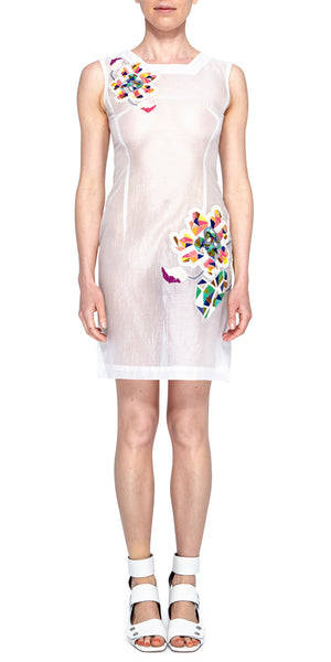 Silk Mosaic Dress
