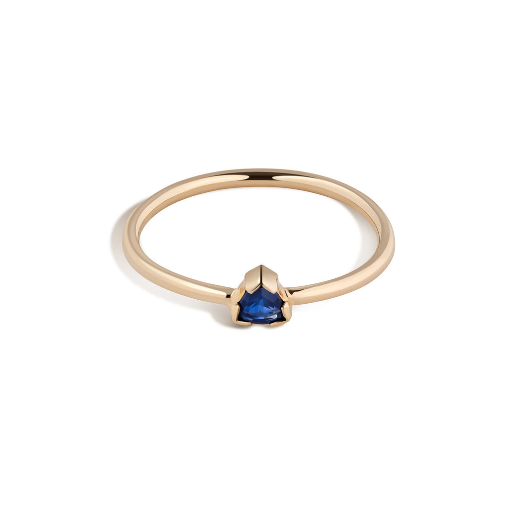 14K Gold Birthstone Ring No. 1