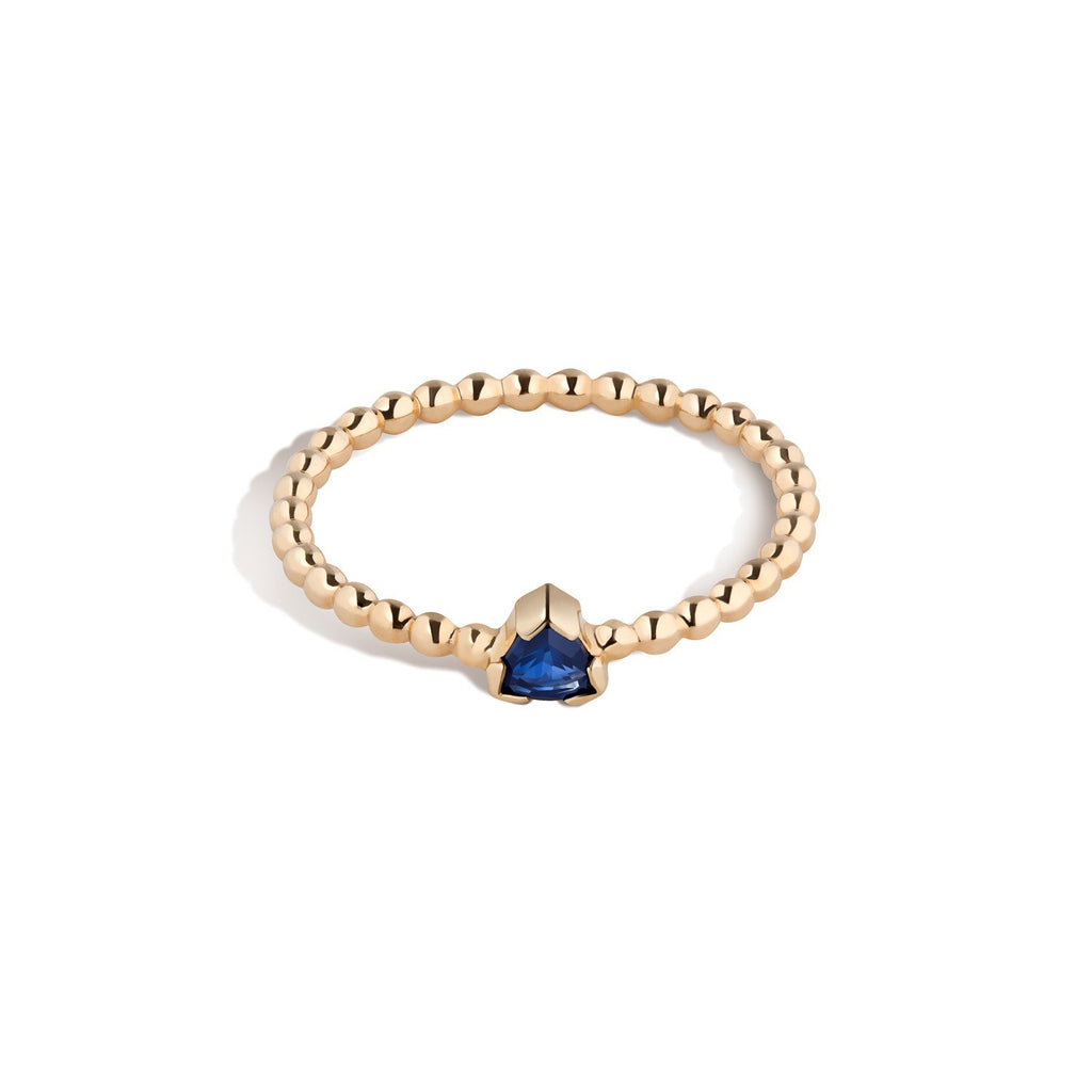 14K Gold Birthstone Ring No. 3