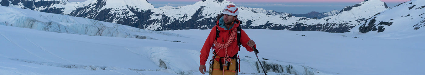 Alpine Climbing Equipment including Ice Axes, Crampons, Snowshoes and more