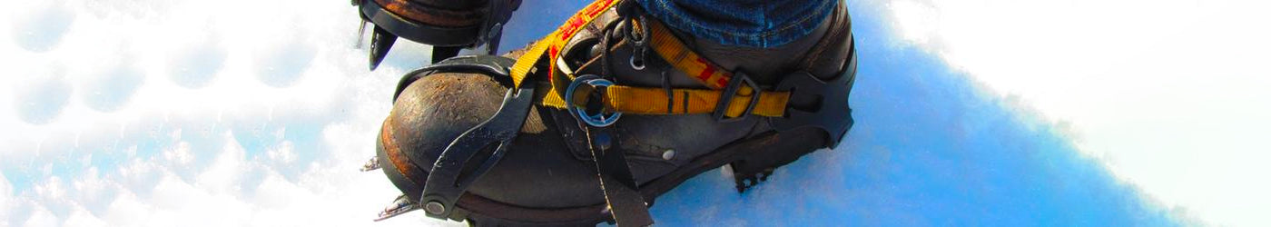 Crampons at Outdoor Action NZ