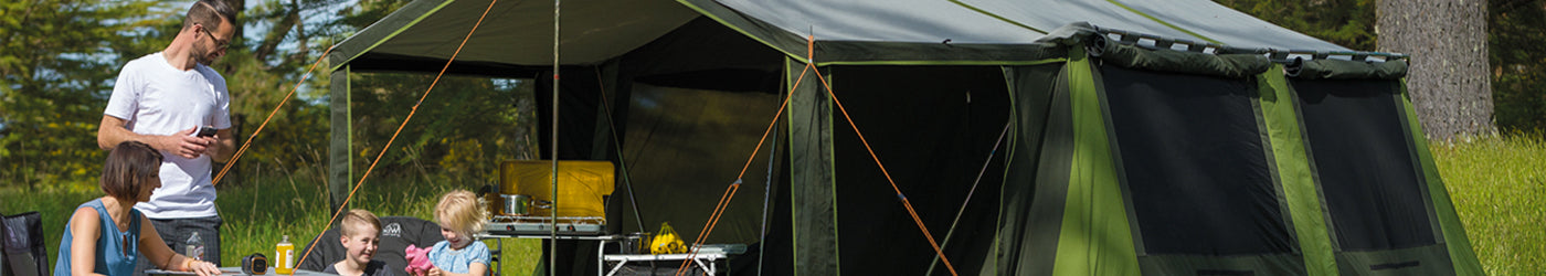 Canvas Tents | Outdoor Action NZ