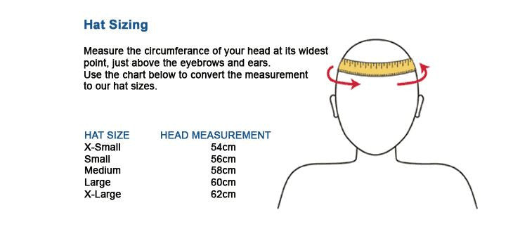 Extremities Hats Size Guide