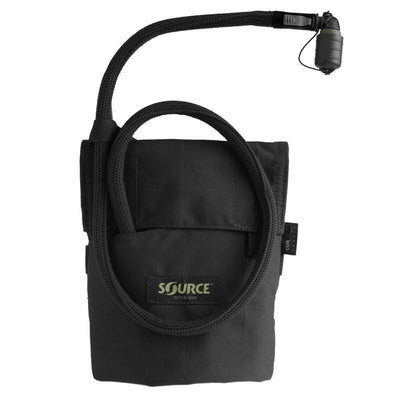 Source Kangaroo 1L Collapsible Canteen with Pouch Black
