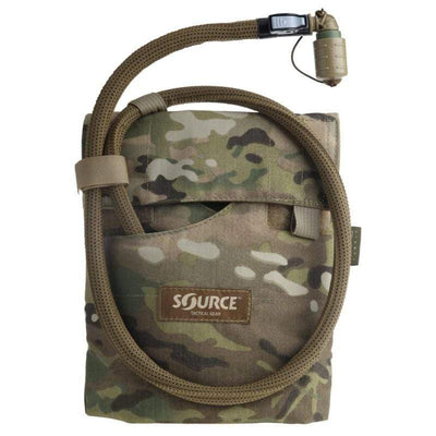 Source Kangaroo 1L Collapsible Canteen with Pouch Multicam