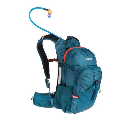 Source Paragon 22+3L Hydration Pack Coral/Blue