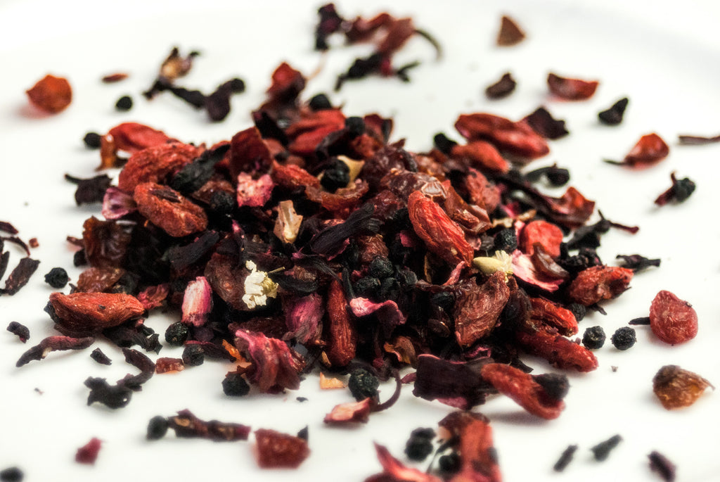 Winter, Spring, Summer & Autumn Herbal Tea Blends