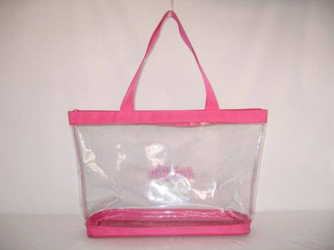 Clear Vinyl Zippered Totes