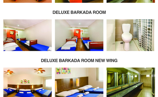 Group Accommodations - Transient Rooms in Pasay - Metro Deluxe Residences