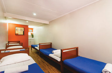 Deluxe barkada room at Metro Deluxe Residences