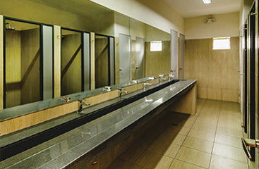 Deluxe barkada room toilets at new wing of Metro Deluxe Residences