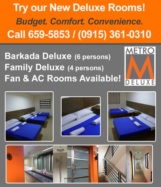 Metro Deluxe Residences Deluxe Budget Rooms for Rent in Pasay City