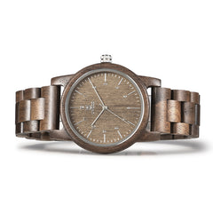 UWH1007 Tan Walnut Wood Watch for Men