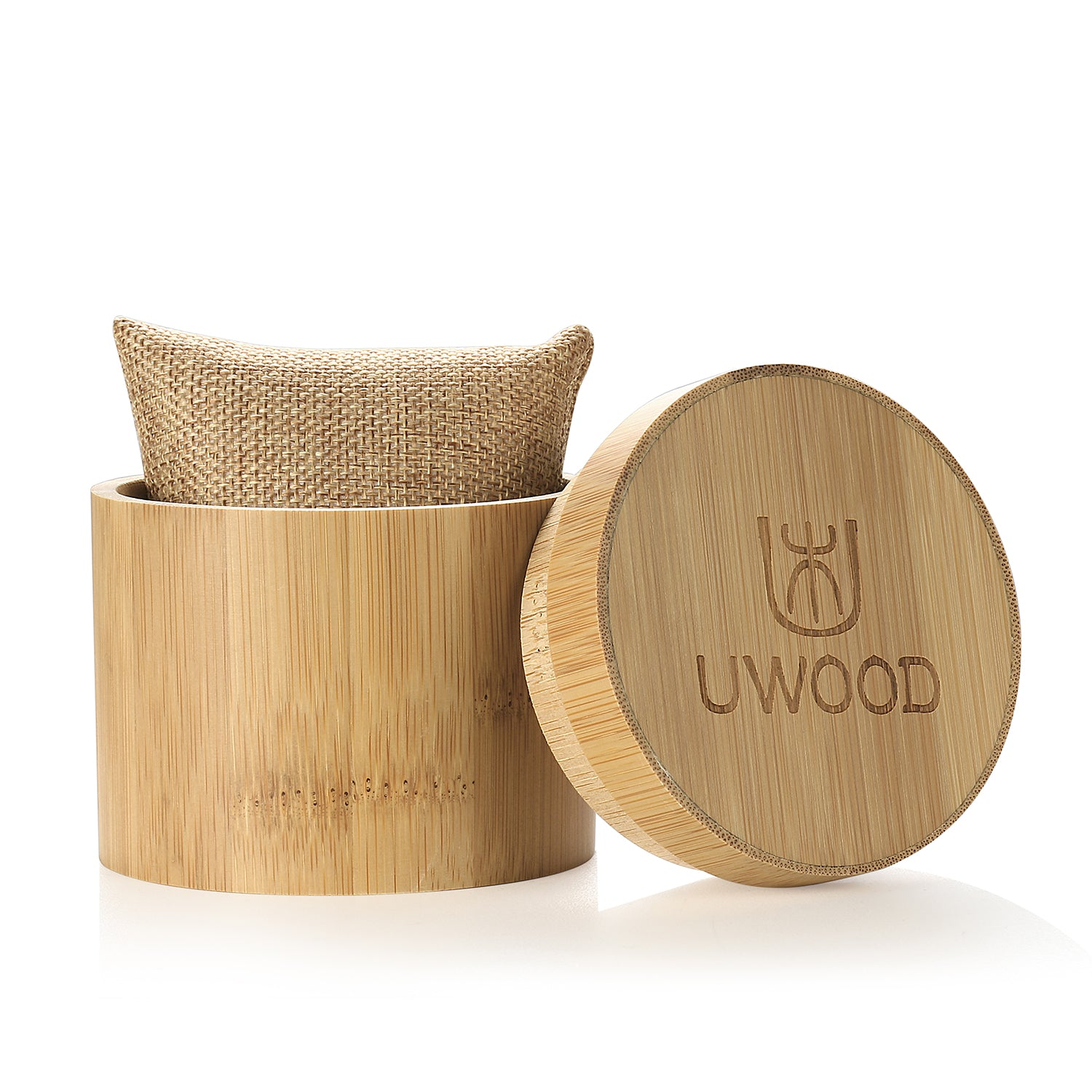 UWOOD Bamboo Wood Watch Gift Box Watch Case