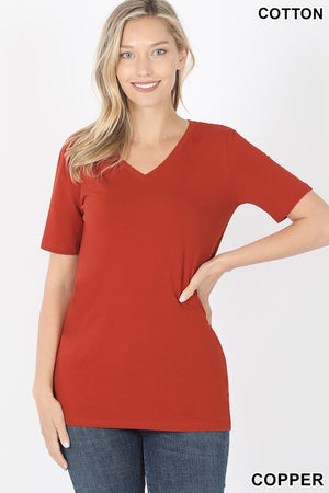 My Favorite V-Neck Tee (9 Colors)