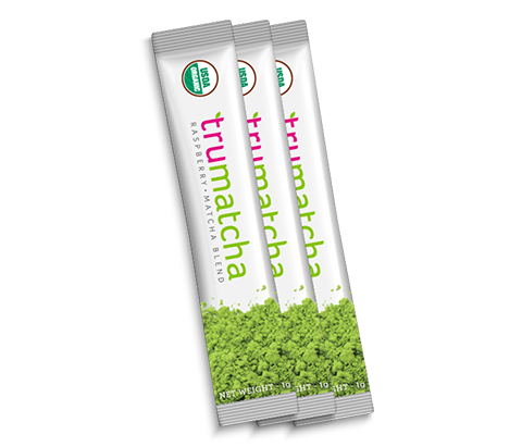 Matcha Quick Packs: Raspberry Matcha Blend