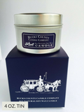 4 oz. Candle Tin - Soy Wax Candle