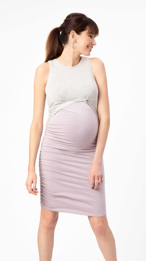 Twist Maternity & Nursing Dress