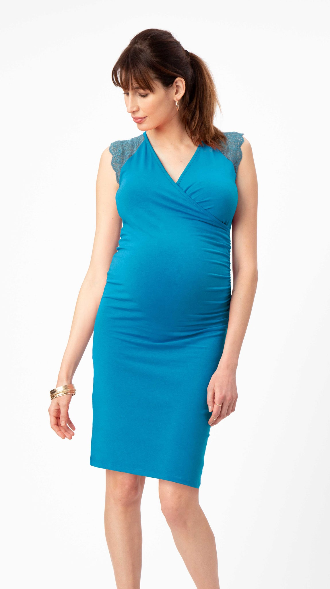 Chelsea Maternity & Nursing Dress