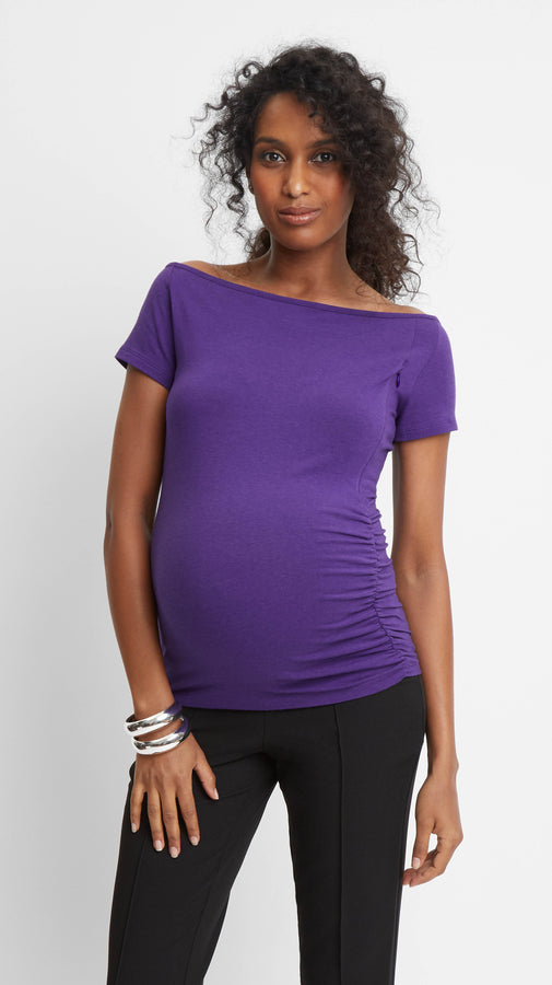 Off Shoulder Nursing & Maternity Top