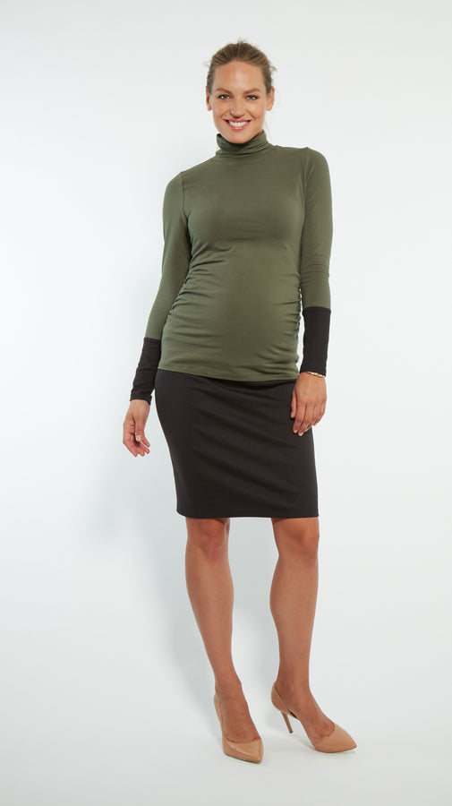 Straight Maternity Skirt