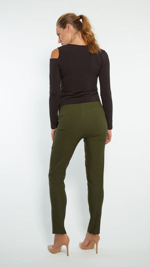 Stowaway Collection Audra Maternity Pant Back Full Length View