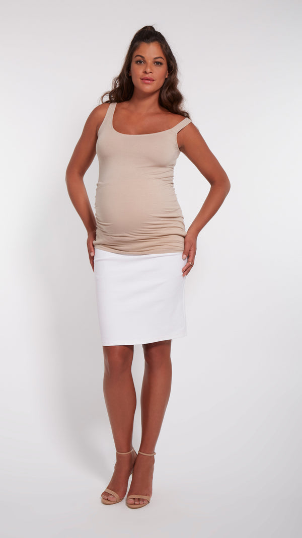 Off Shoulder Maternity Tank