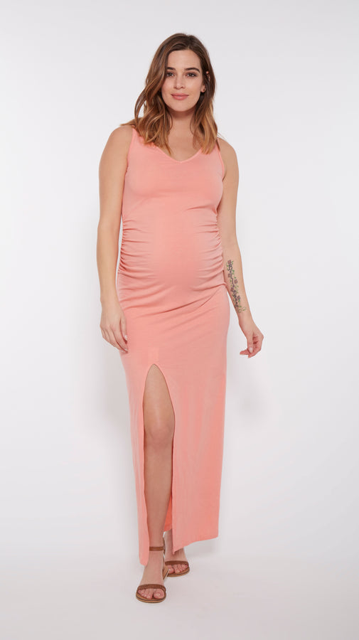 Maternity Maxi Dress & Cover Up