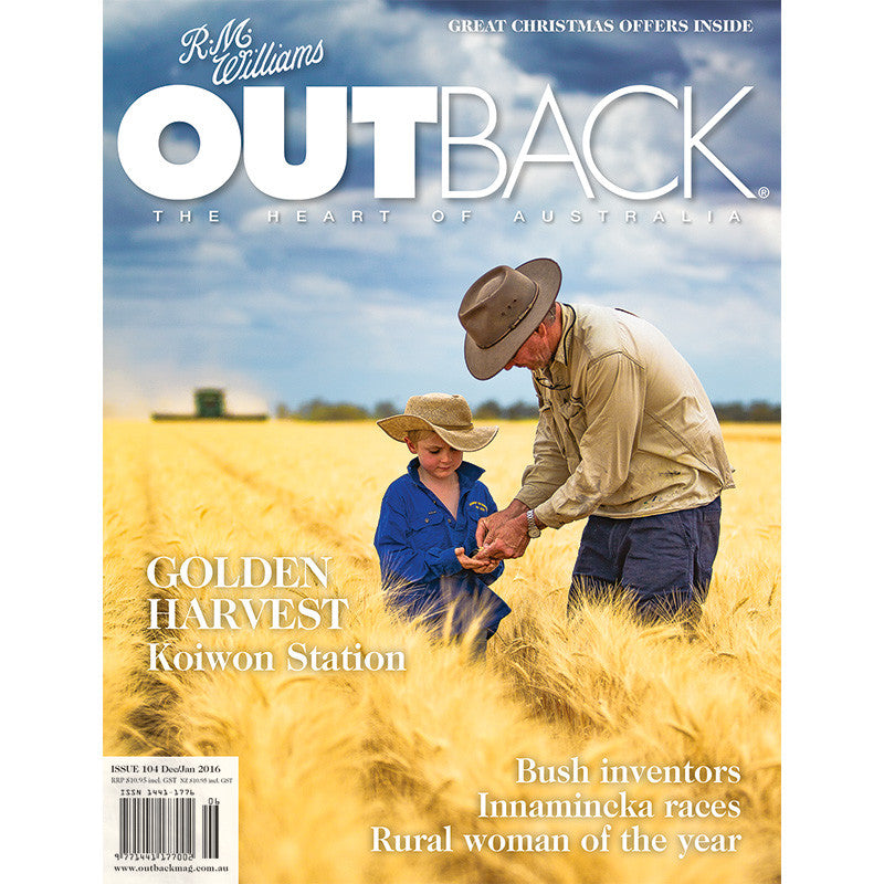 OUTBACK Magazine - Issue 104 - Dec/Jan 2016
