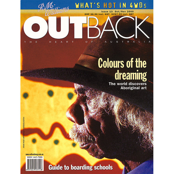OUTBACK Magazine - Issue 13 - Oct/Nov 2000