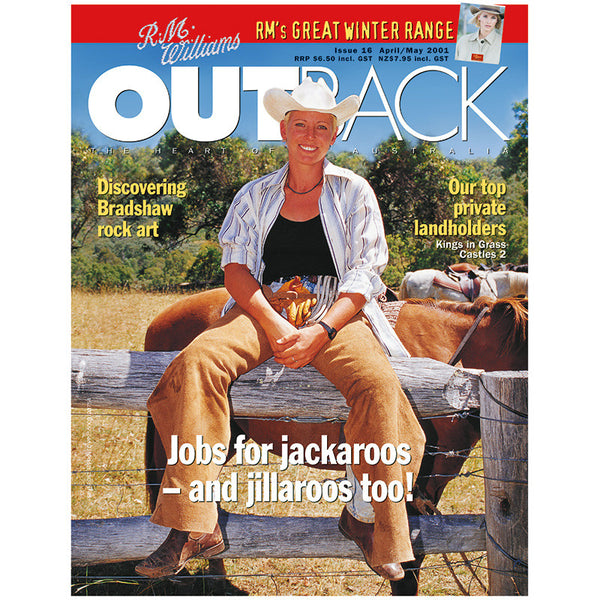 OUTBACK Magazine - Issue 16 - Apr/May 2001