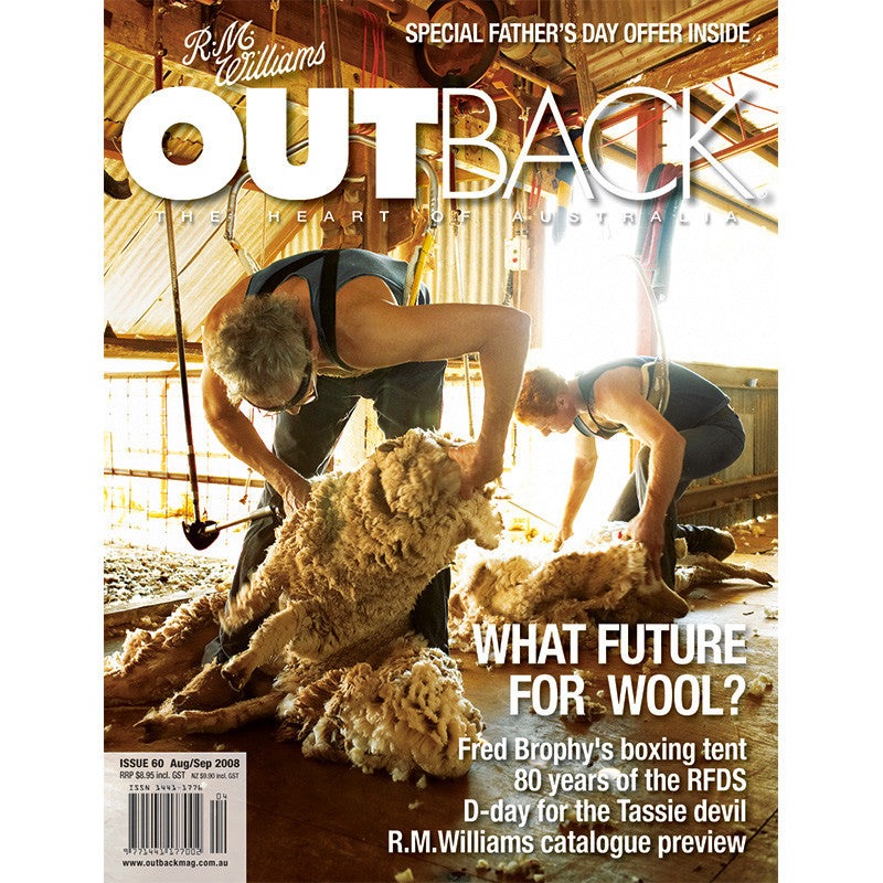 OUTBACK Magazine - Issue 60 - Aug/Sep 2008