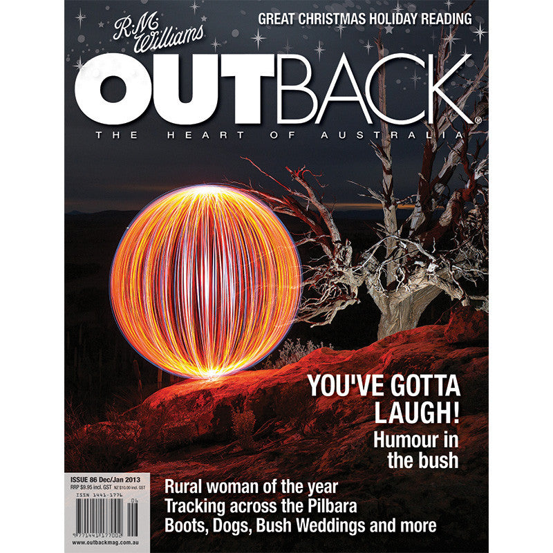 OUTBACK Magazine - Issue 86 - Dec/Jan 2013