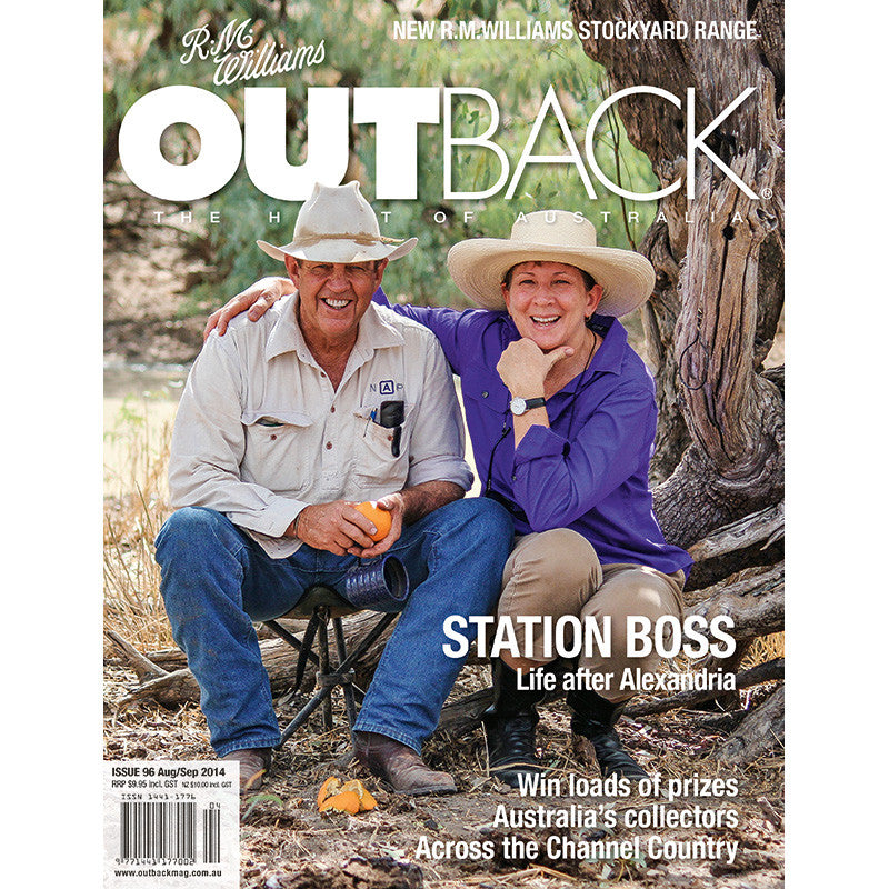 OUTBACK Magazine - Issue 96 - Aug/Sep 2014