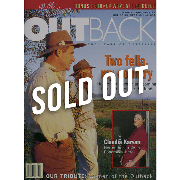 OUTBACK Magazine - Issue 4 - April/May 1999