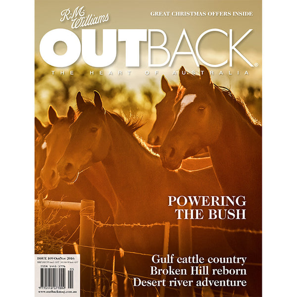 OUTBACK Magazine - Issue 109 - Oct/Nov 2016