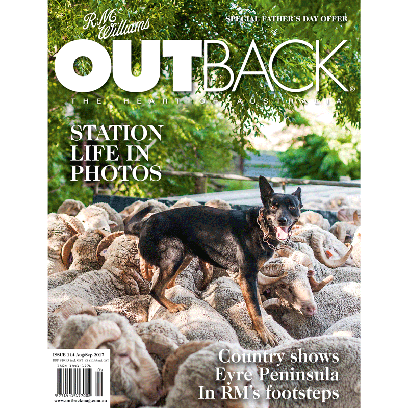 OUTBACK Magazine - Issue 114 - Aug/Sep 2017